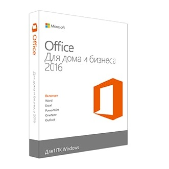 Office Home and Business 2016 32-bit/x64 Russian Russia Only DVD
